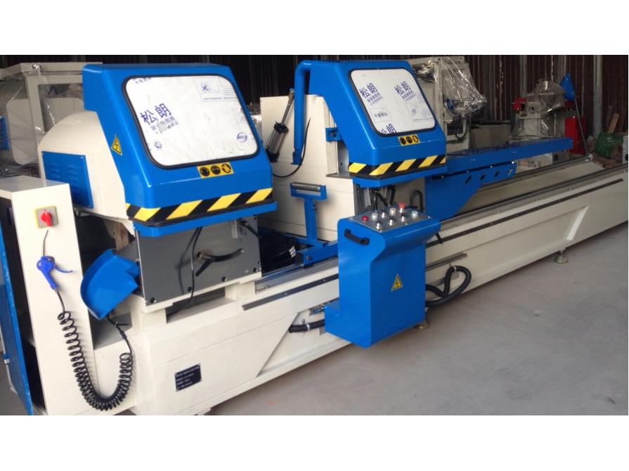 Máy cắt nhôm hai đầu D500 LJZ2X-500×4200 cắt ngửa tự động