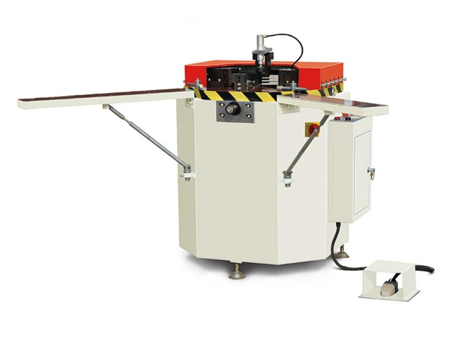 Máy ép góc nhôm Xingfa tự động CNC không thay dao
