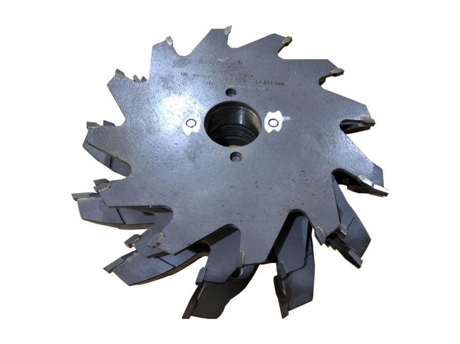 Bộ lưỡi dao phay đầu đố sập liền và khung bao WD55 Plus