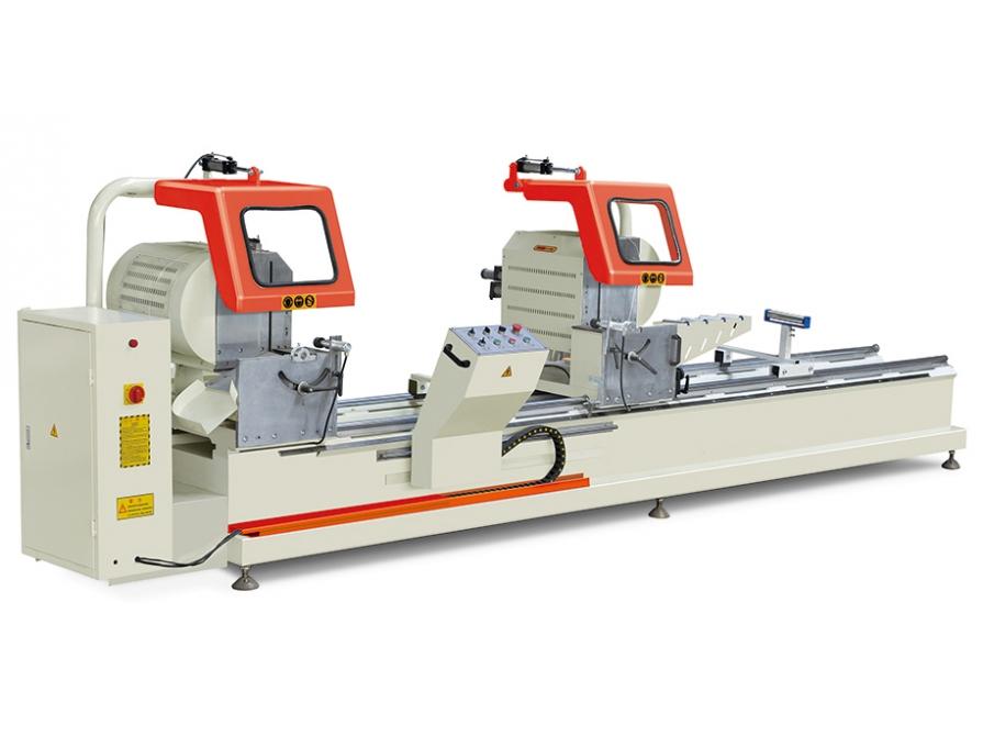 Máy cắt nhôm hai đầu 07 tự động LJZ2-450×3700