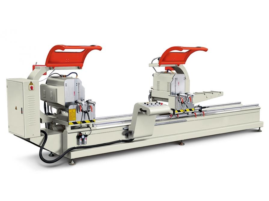 Máy cắt nhôm hai đầu 500 LJJ2-500×4200 quay đa góc  tự động