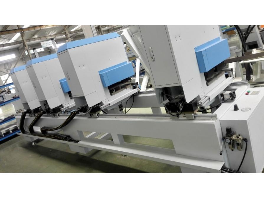 Máy hàn cửa nhựa 4 đầu tự làm sạch góc WFH-4-5MD
