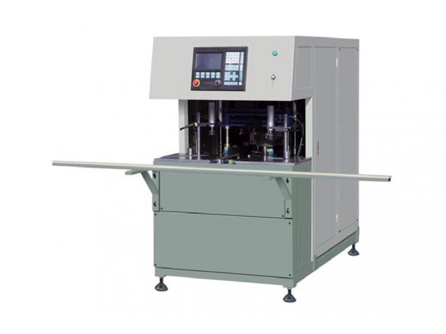 Máy làm sạch góc hàn cửa nhựa CNC JQK04-CNC-120